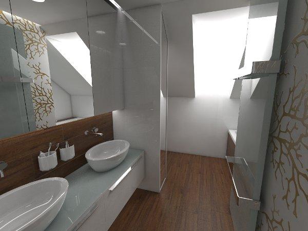 łazienka Pod Skosem Projektujemylazienkepl