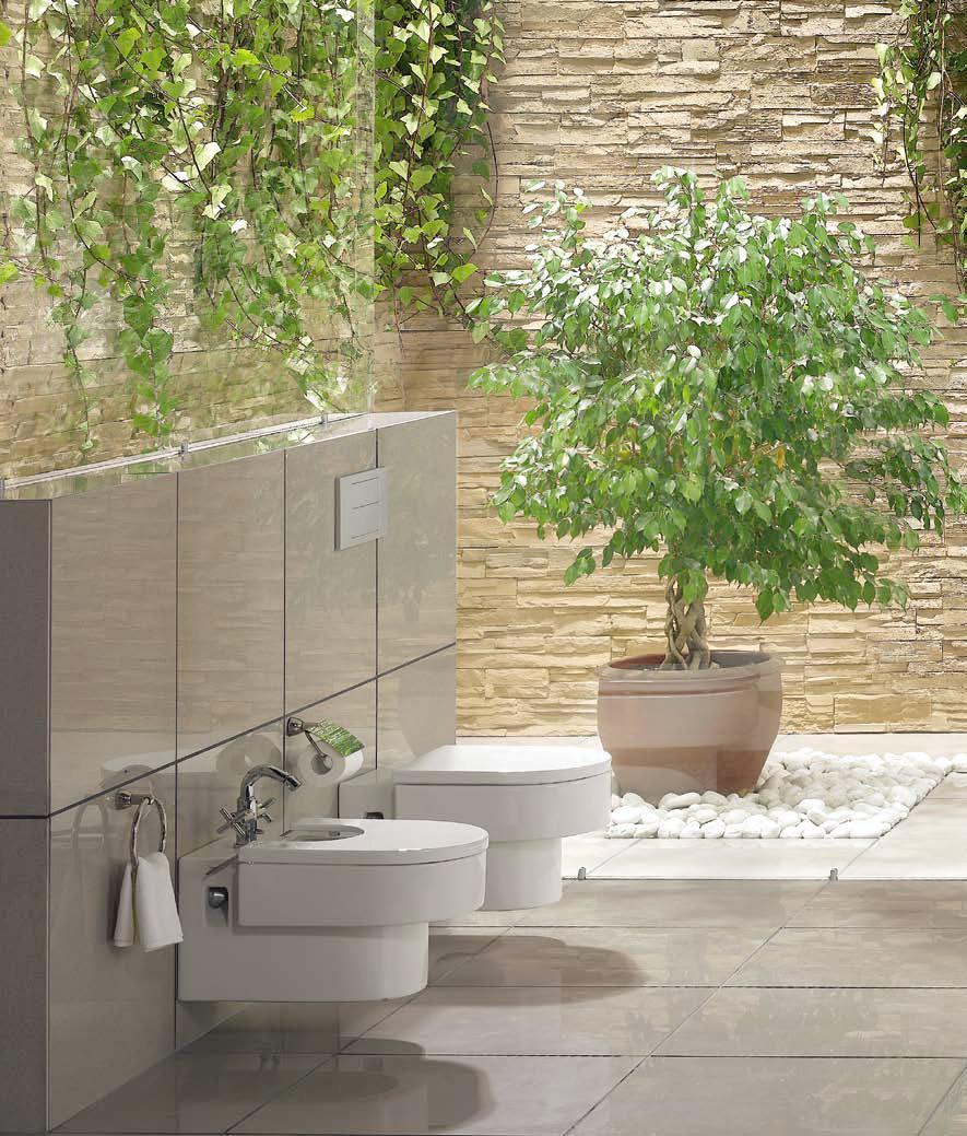 żywe Kwiaty W łazience Projektujemylazienkepl