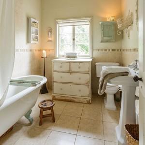 Styl Shabby Chic W łazience Projektujemylazienkepl